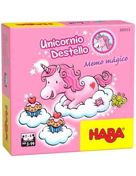 Unicornio Destello Memo Mágico- Haba