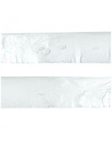 Fleco blanco de plástico