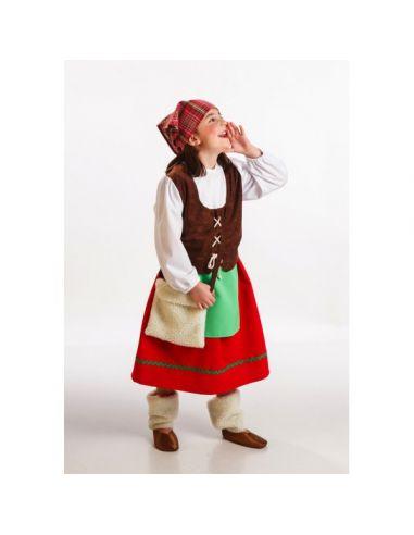 Disfraz de Pastora niña