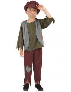 disfraz de victoriano pobre para nio