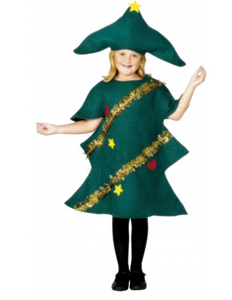 Disfraz de Árbol Navidad infantil