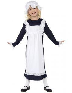 disfraz de chica pobre victoriana para nia