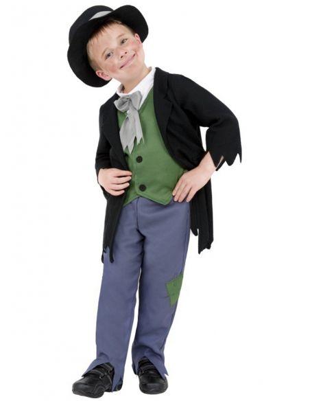 disfraz de granuja victoriano para nio