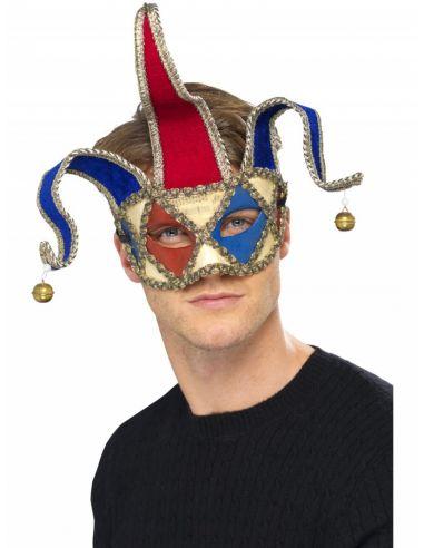 Máscara veneciana de bufón